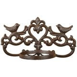 Esschert Design Support de pot de fleurs Marron Fonte BR28