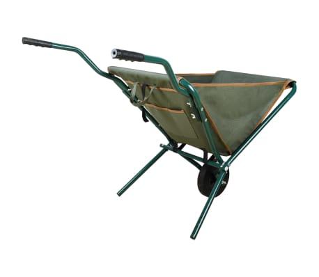 Esschert Design Foldbar trillebår grønn GT138