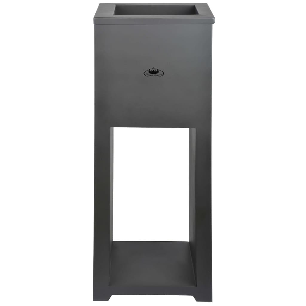 Esschert Design Vuurplaats met houtopslag staal FF278
