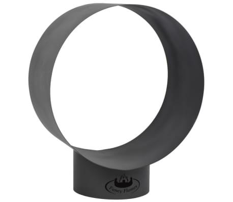 Esschert Design Structură depozitare lemne de foc, rotund FF282[2/4]