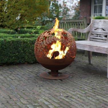 Brasero Fire globe en métal Fleur 58[2/2]