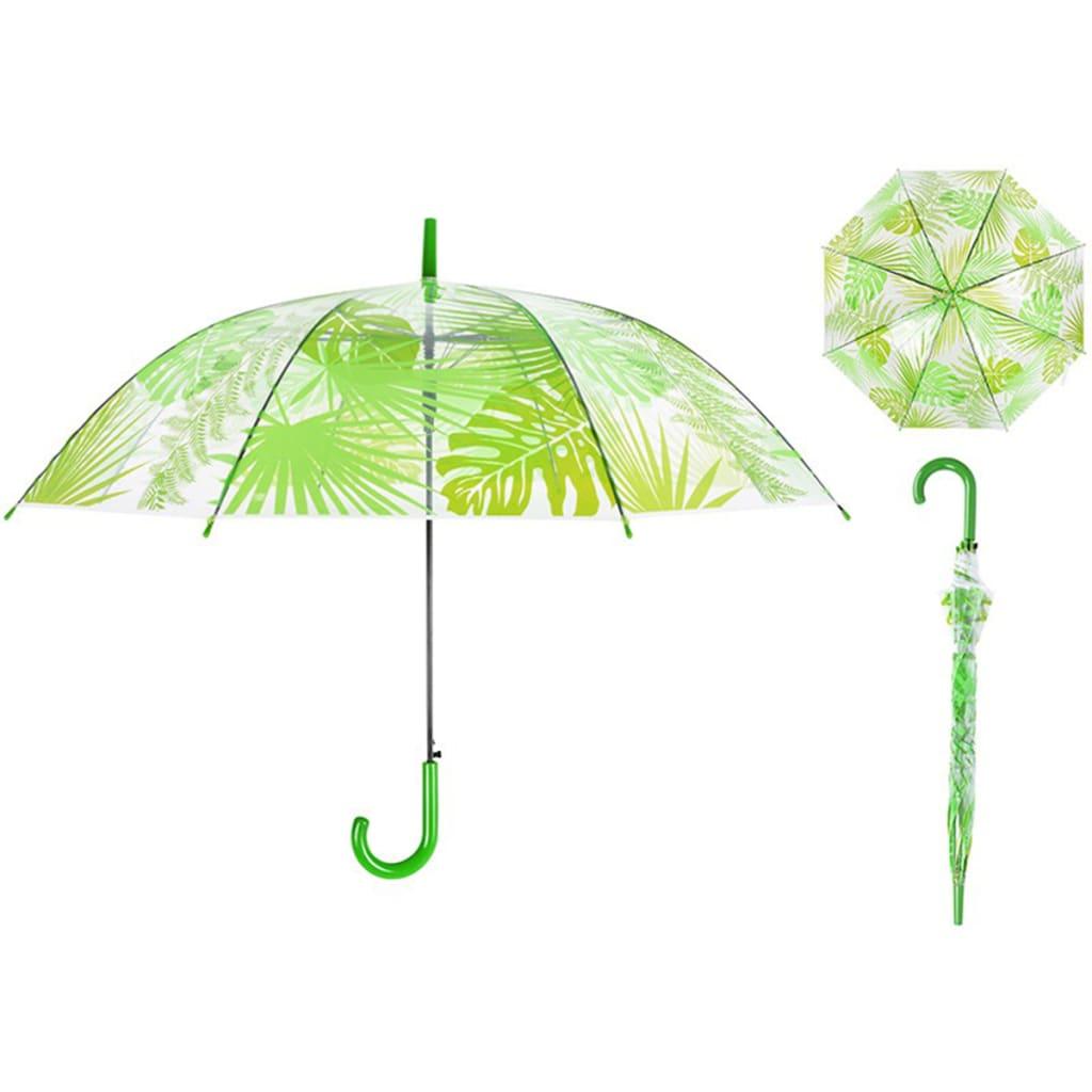 99423803 Esschert Design Regenschirm 100 cm Dschungelblätter TP272