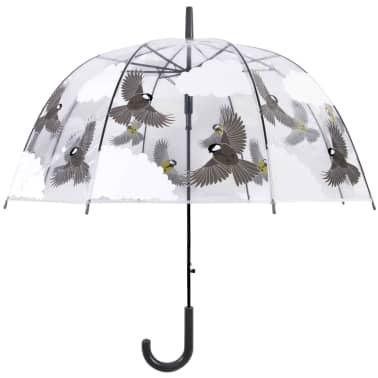 Esschert Design Regenschirm 81 cm Vögel Beidseitig Bedruckt TP274[1/4]