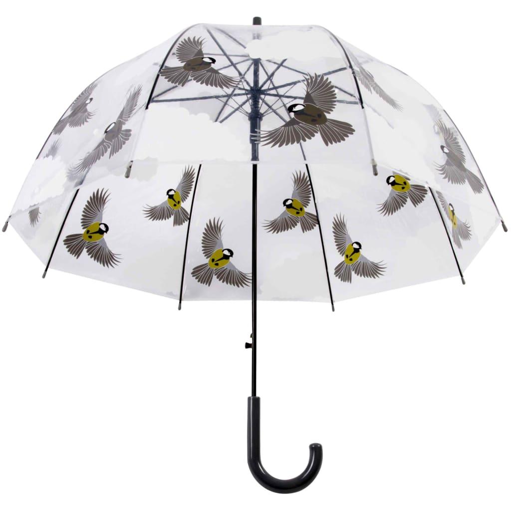 99423804 Esschert Design Regenschirm 81 cm Vögel Beidseitig Bedruckt TP274