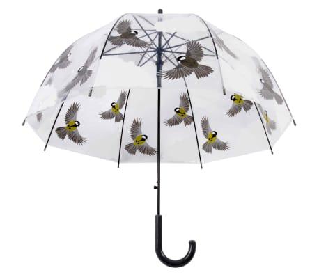 Esschert Design Regenschirm 81 cm Vögel Beidseitig Bedruckt TP274[2/4]