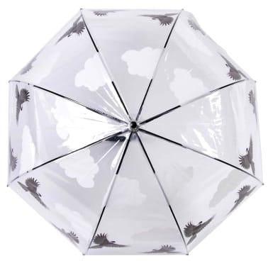 Esschert Design Regenschirm 81 cm Vögel Beidseitig Bedruckt TP274[3/4]