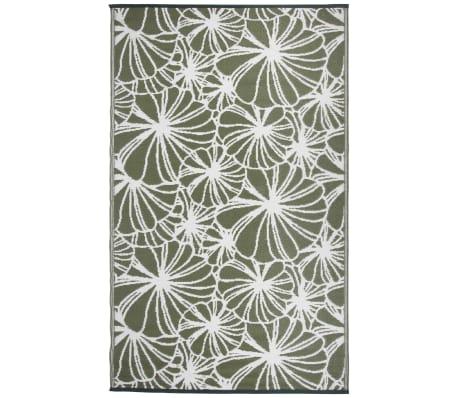 Esschert Design Vonkajší koberec 241x152 cm, kvetovaný vzor OC21