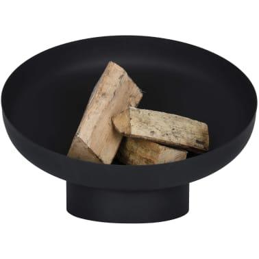 Esschert Design Feuerschale Schräglage Schwarz Stahl FF402[4/10]