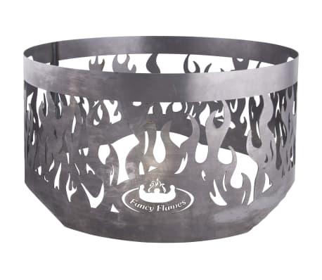Esschert Design Écran de cheminée pour vasque à feu Gris Acier FF415[1/2]