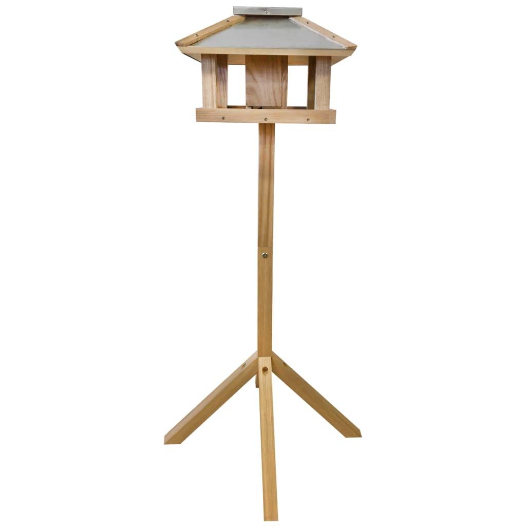 99422493 Esschert Design Vogelhäuschen Quadratisches Stahldach FB433