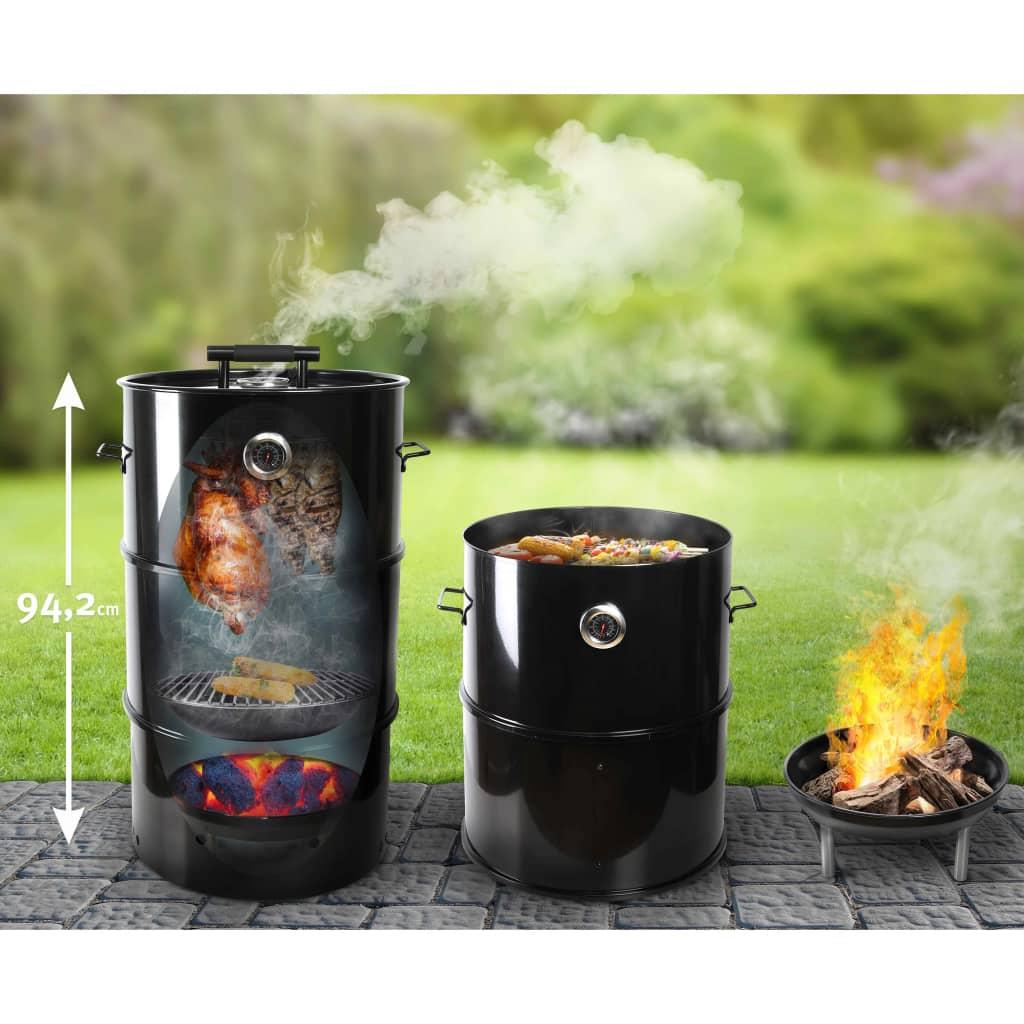 Esschert Design BBQ-roker tonvormig L FF429