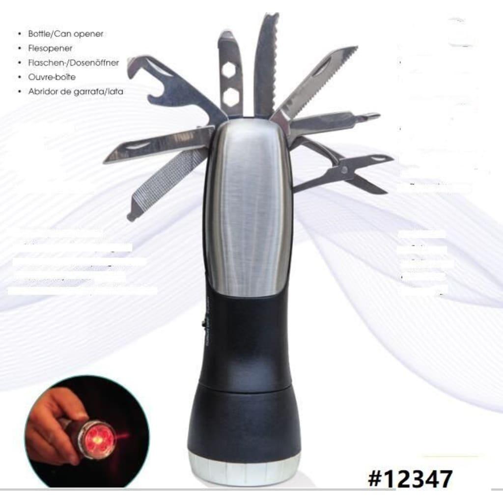 Afbeelding van Deluxa LED Zaklamp / Multitool Incl. Noodlamp