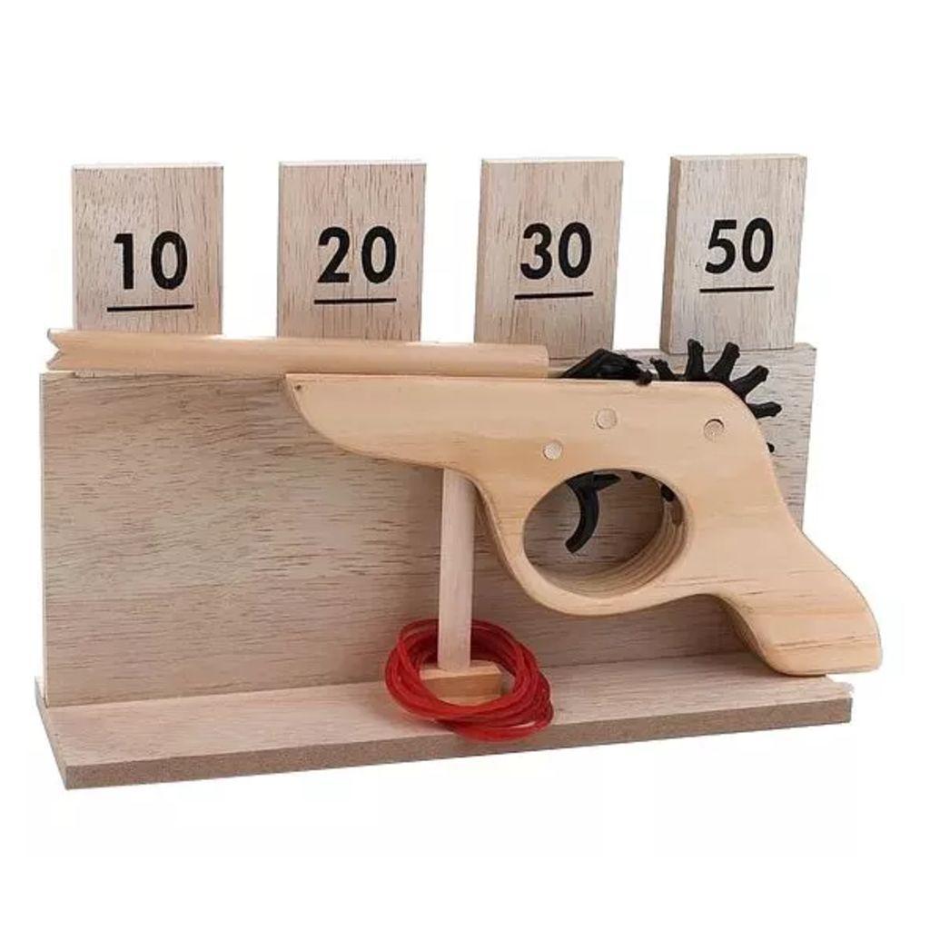 Afbeelding van Engelhart houten schietspel 14 delig