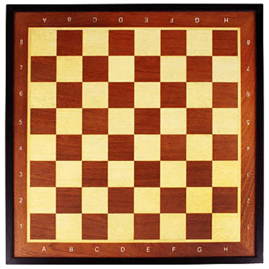 Abbey Game Tablă de șah Deluxe, 41 x 41 cm, lemn poza 2021 Abbey Game