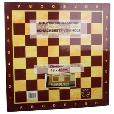 Abbey Game Tablero de ajedrez Deluxe madera 41x41cm[2/2]