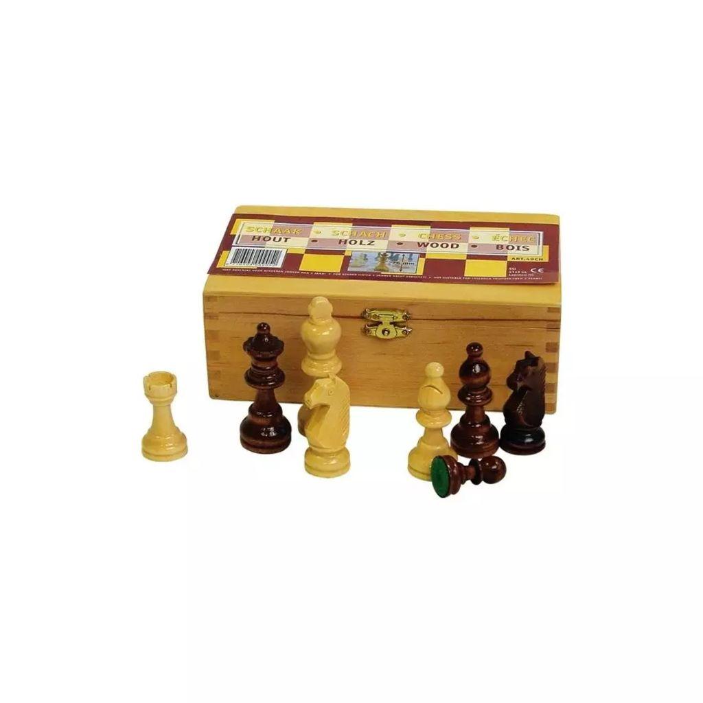 Afbeelding van Abbey Game Schaakstukken 76mm