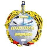 Corde Waimea pour sport aquatique jaune/bleu cobalt