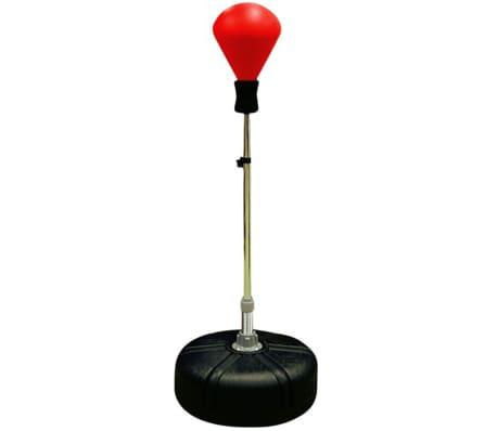 Avento Senior Refleksinė bokso kriaušė, raudona/juoda, 41BD
