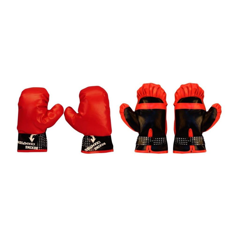 Avento junior boksbal set reflex zwart/rood 41BE