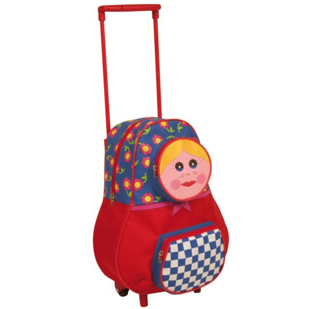 Afbeelding van Abbey trolley rugzak (rood) 21RN