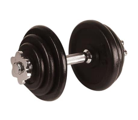 Avento Hantel 10 kg schwarz 41HL[1/3]