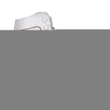 Nijdam Women's Figure Skates Classic Leather Size 38 0043-WIT-38