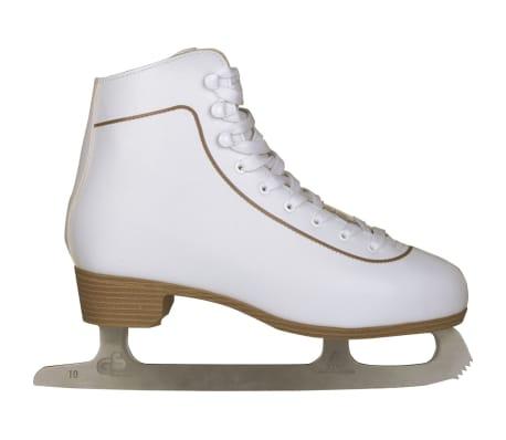 Nijdam Mot. dailiojo čiuožimo pačiūžos, klasik., dydis 39, 0043-WIT-39[1/2]