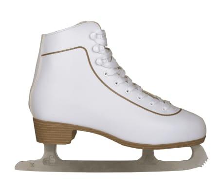 Nijdam Mot. dailiojo čiuožimo pačiūžos, klasik., dydis 43, 0043-WIT-43[3/3]