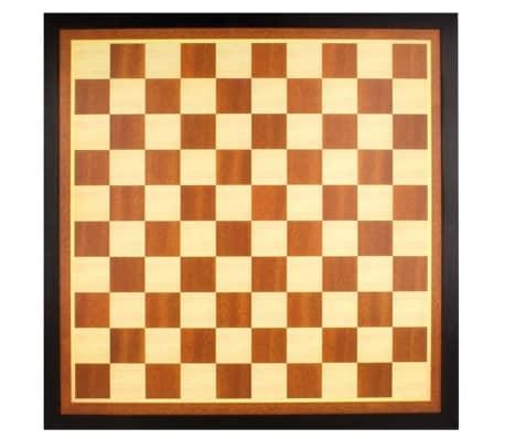 Tablero de ajedrez / damas de madera Abbey Game 49CG, Marrón / crudo[2/3]