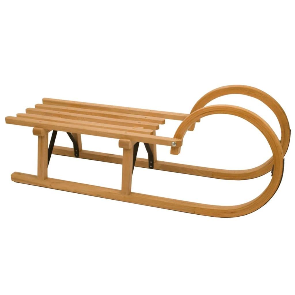 Rodelslee hout 95 cm