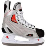 Nijdam Korčule na ľadový hokej, veľkosť 38, polyester, 3385-ZZR-38