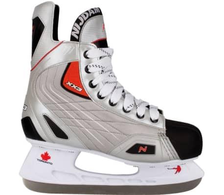 Nijdam ishockeyskøjter str. 41 polyester 3385-ZZR-41