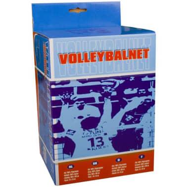Avento Volleyball-Netz 9,5 x 1 m Schwarz 16NE[2/2]