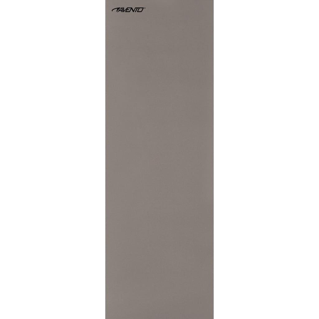Avento Podložka na cvičení a jógu 160 x 60 cm šedá PE 41VG-GRI-Uni