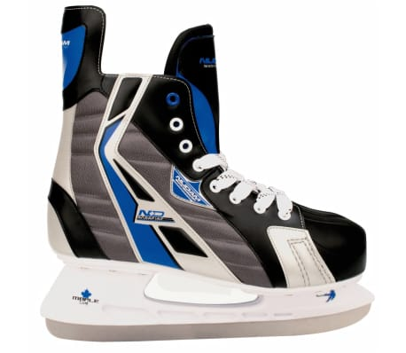 Nijdam Patines de hockey sobre hielo talla 44 poliéster 3386-ZBZ-44[1/3]