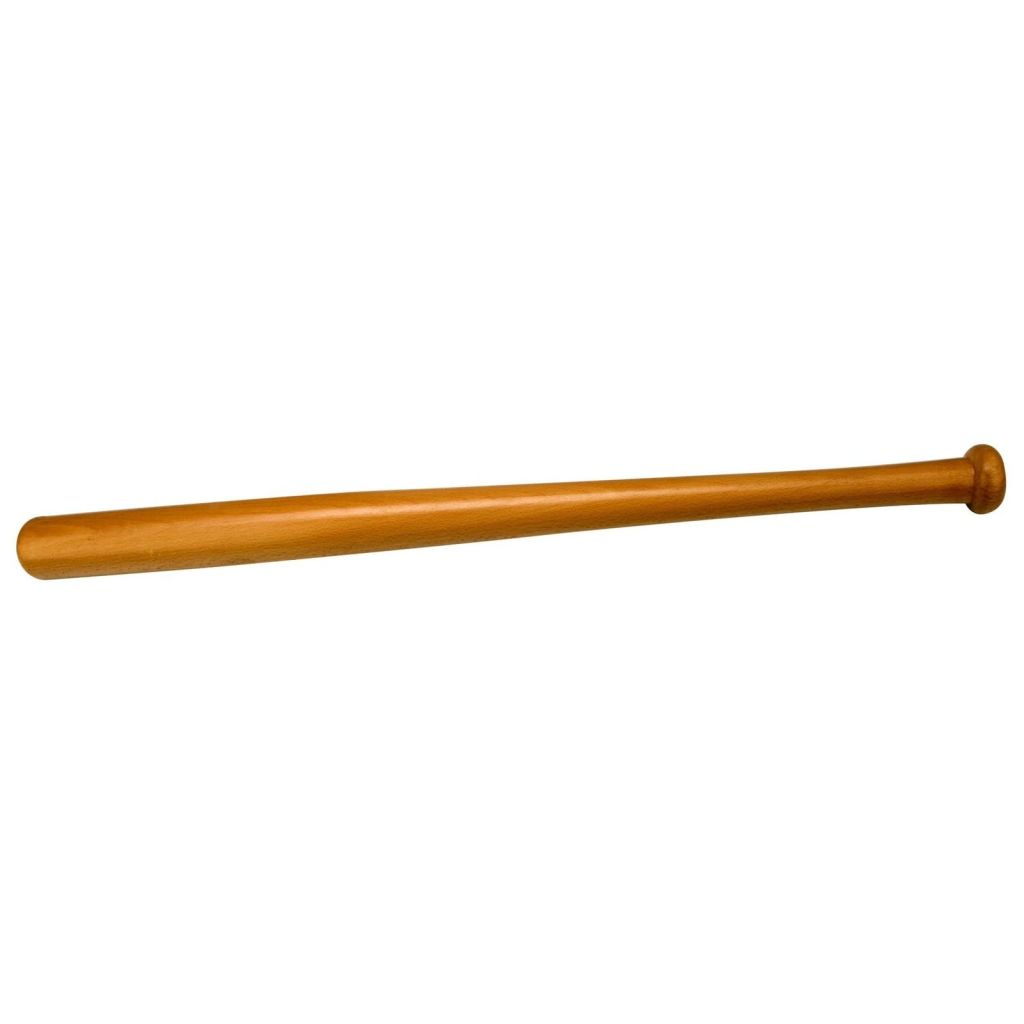 Afbeelding van Abbey Honkbalknuppel 68cm Hout Bruin