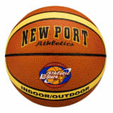 New Port Basketball laminert PVC-lær 16GF