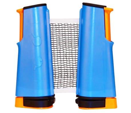 Get & Go Rete Tavolo Tennis Arrotolato Blu Cobalto/Arancione/Nero 61TT