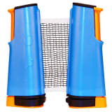 Get & Go Roll Up Table Tennis Net Cobalt Blue/Orange/Black 61TT