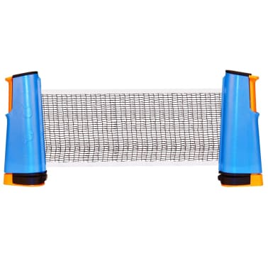 Get & Go aufrollbares Tischtennis-Netz Kobaltblau/Orange/Schwarz 61TT[2/5]