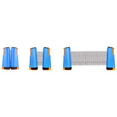 Get & Go aufrollbares Tischtennis-Netz Kobaltblau/Orange/Schwarz 61TT[3/5]