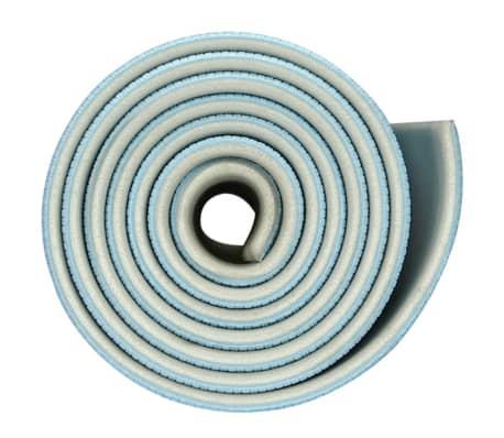 Tapis de fitness bleu clair/gris clair Avento 41WB[3/5]