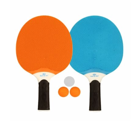 Get & Go Outdoor Tischtennis-Set Blau/Orange/Hellgrau 61UP[1/3]