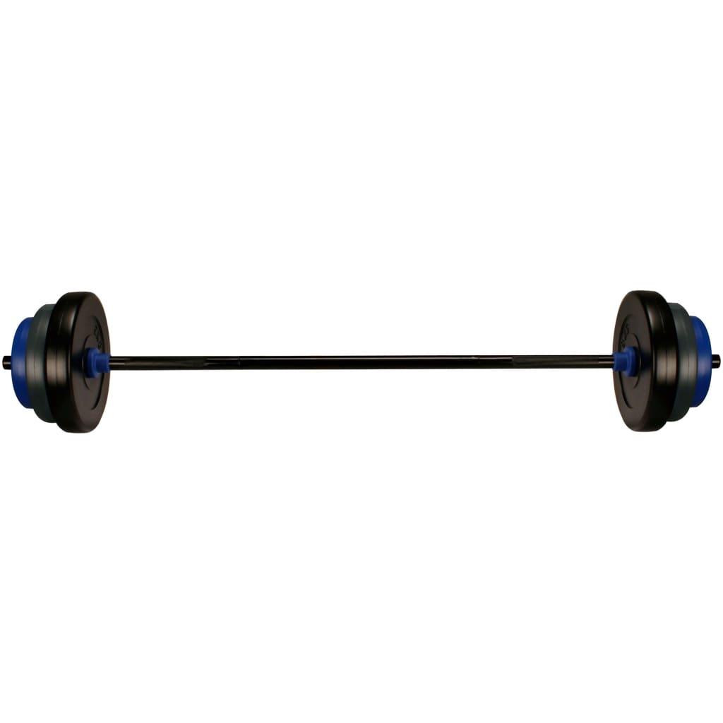 Avento Set de haltere de fitness, 20 kg, oțel vidaxl.ro
