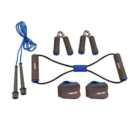 Avento träningspaket grå/koboltblå/svart 41VE