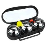 Get & Go Set de petanca IV 3 bolas plateadas COC 52JP-COC-Uni