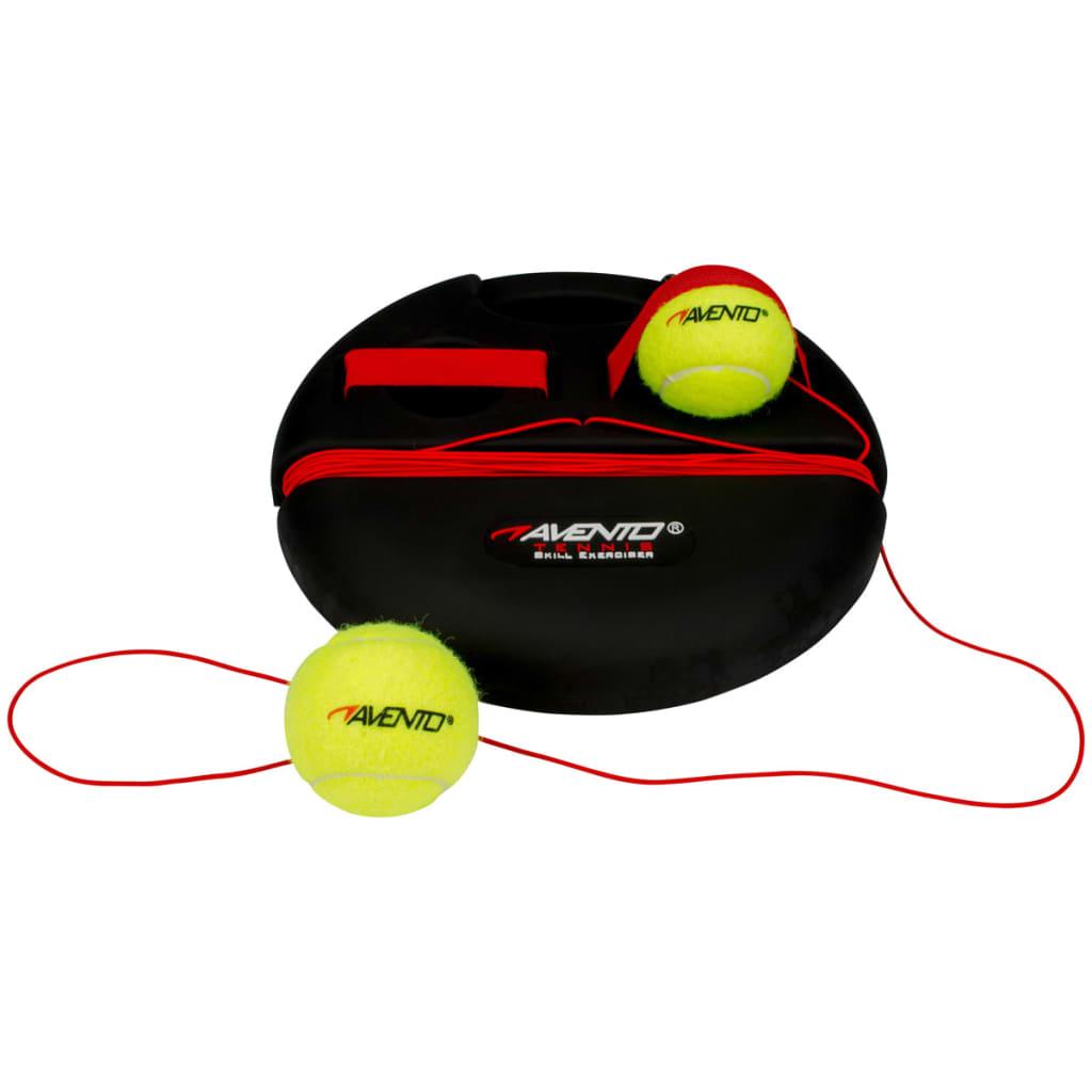 Avento Aparat antrenament tenis, 65TA-ZWG-Uni, negru și galben poza 2021 Avento