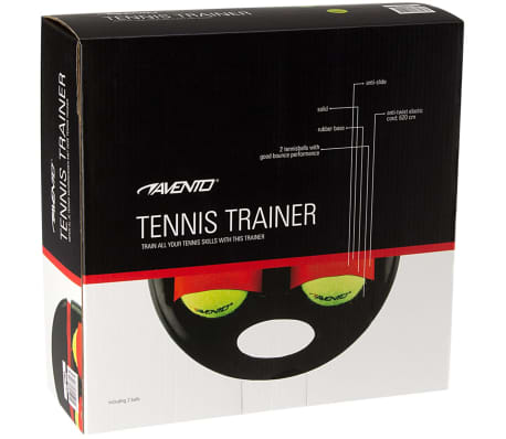 Avento Tennis-Trainer Schwarz und Gelb 65TA-ZWG-Uni[4/4]