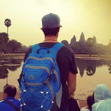 Abbey Backpack Sphere 35 L blauw 21QB-BAG-Uni[6/6]