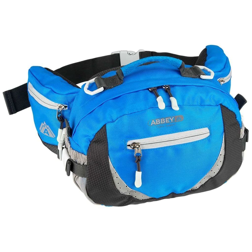 Abbey Outdoor-Gürteltasche Blau und Anthrazit 21QE-BAG-Uni